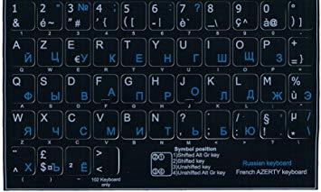 clavier russe