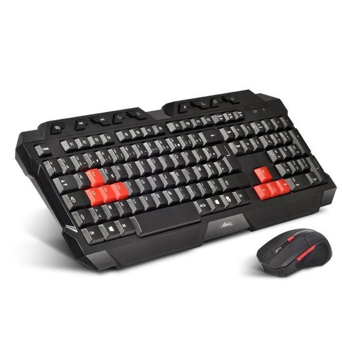 clavier souris gamer sans fil
