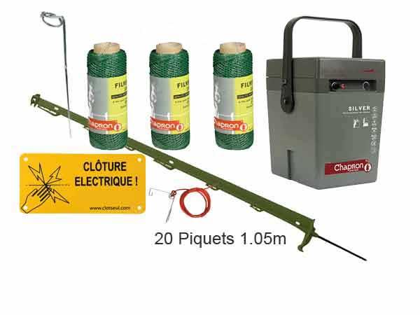 cloture pour chien electrique