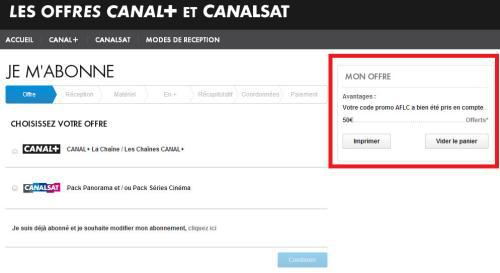 code canal+