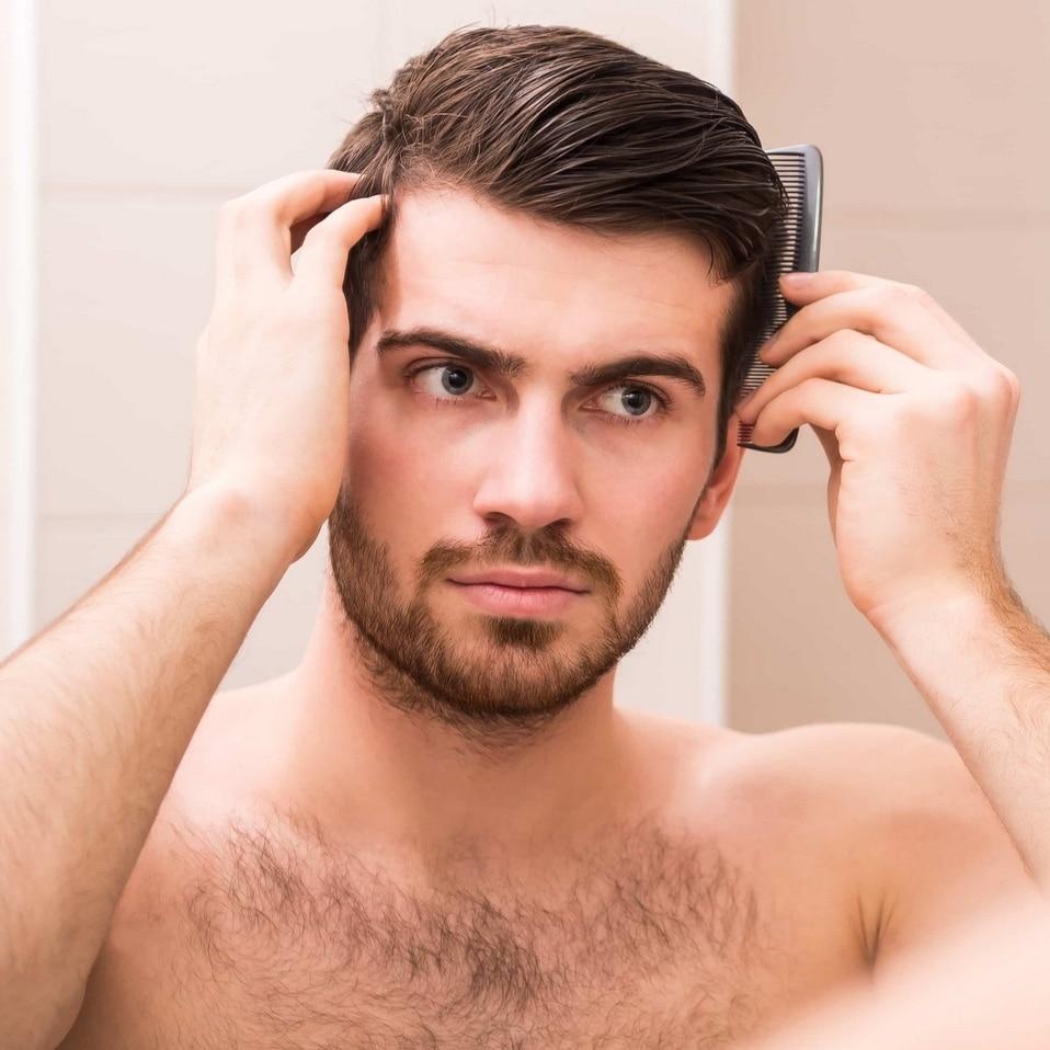 coiffure a la cire homme