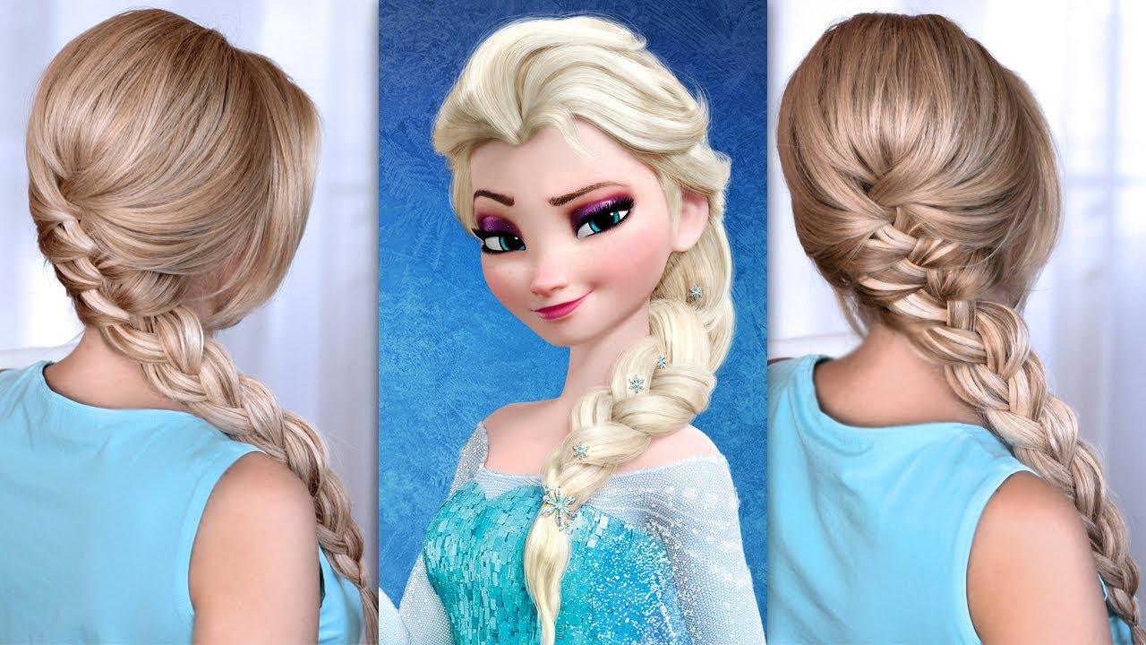coiffure la reine des neiges