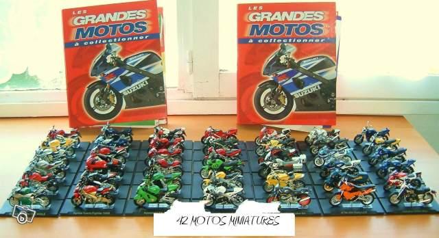 collection de moto miniature