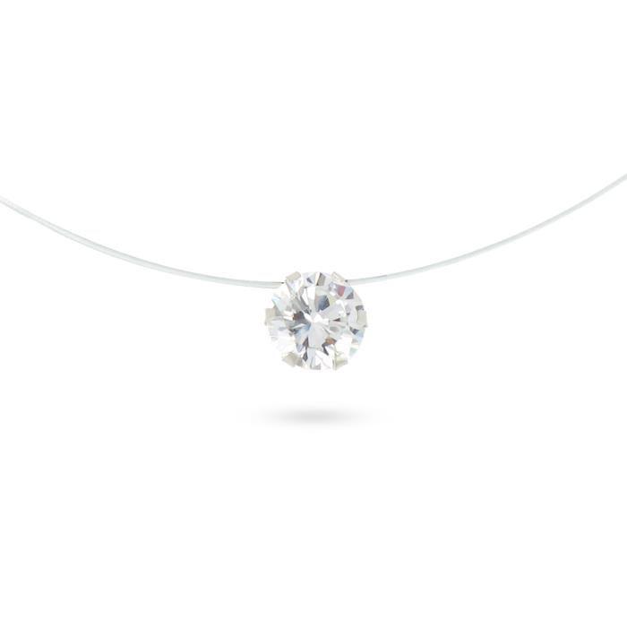 collier diamant pas cher