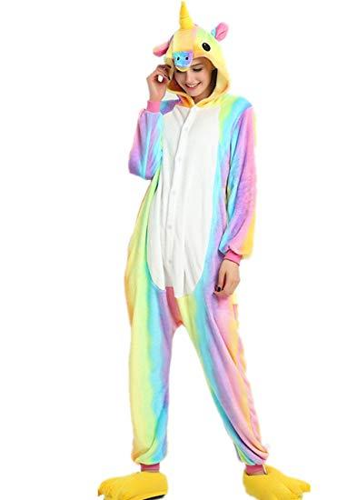 combinaison licorne pyjama
