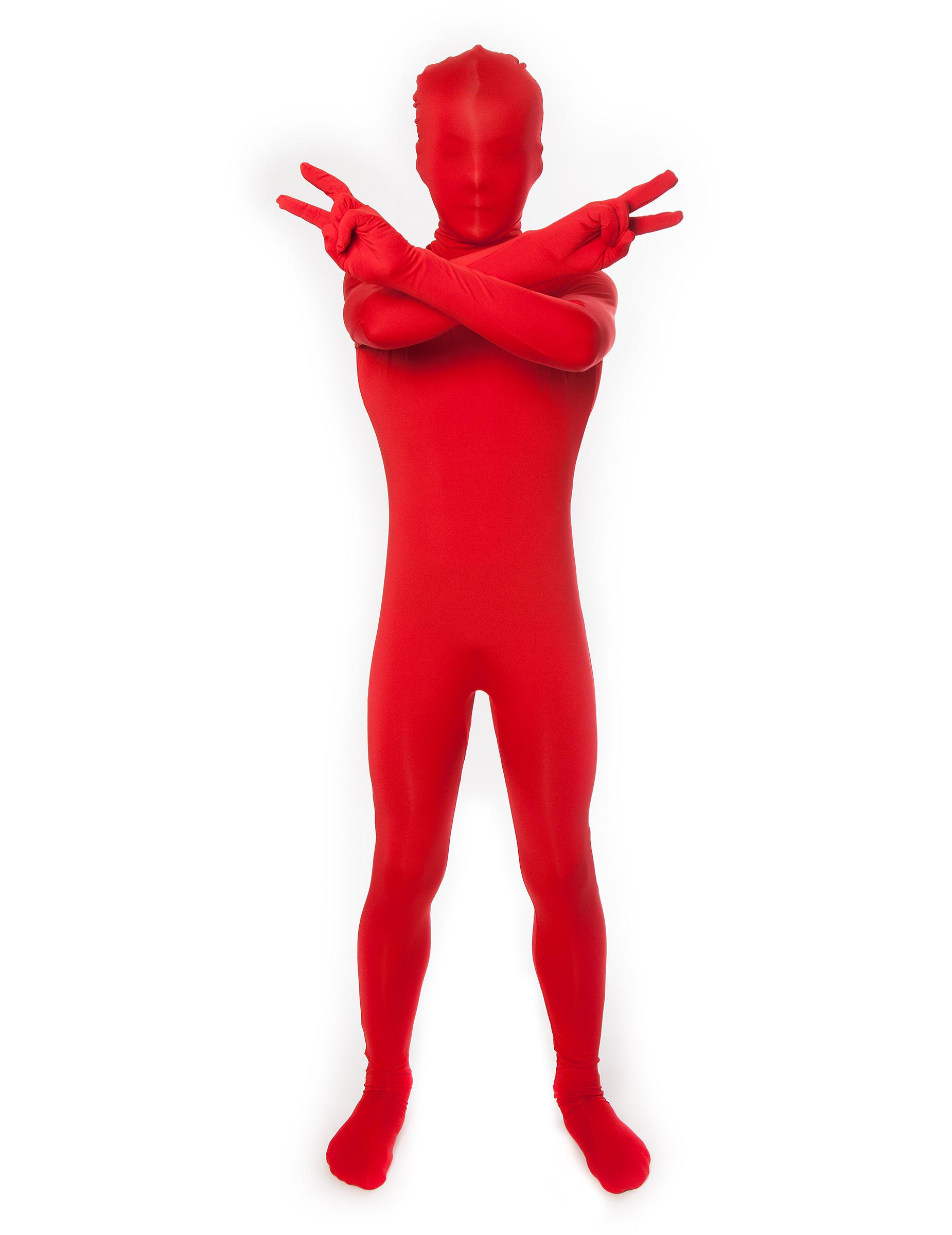combinaison rouge deguisement