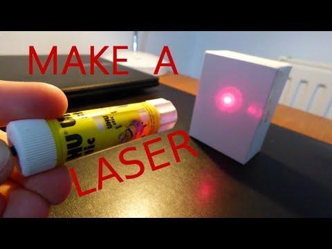 comment faire un laser puissant