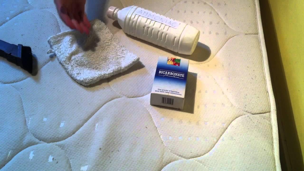 comment nettoyer un matelas sale