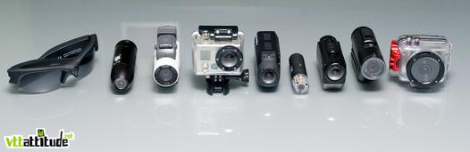 comparaison camera sport