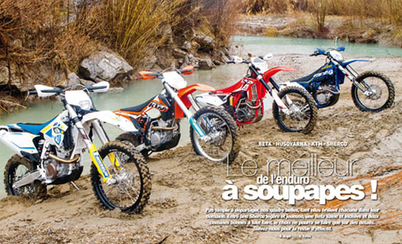 comparatif enduro
