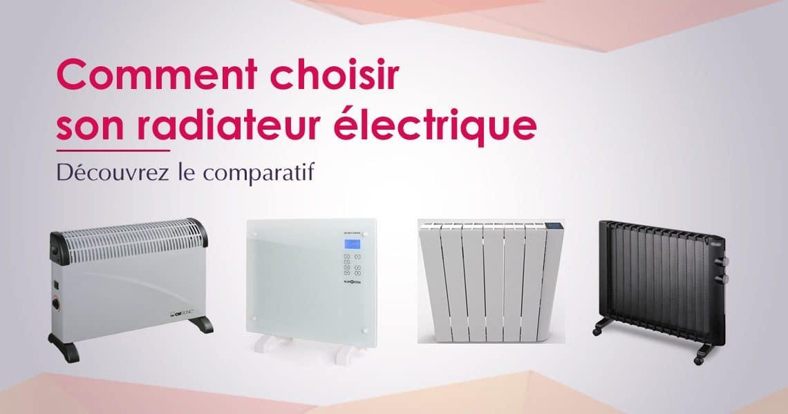 comparatif radiateur electrique