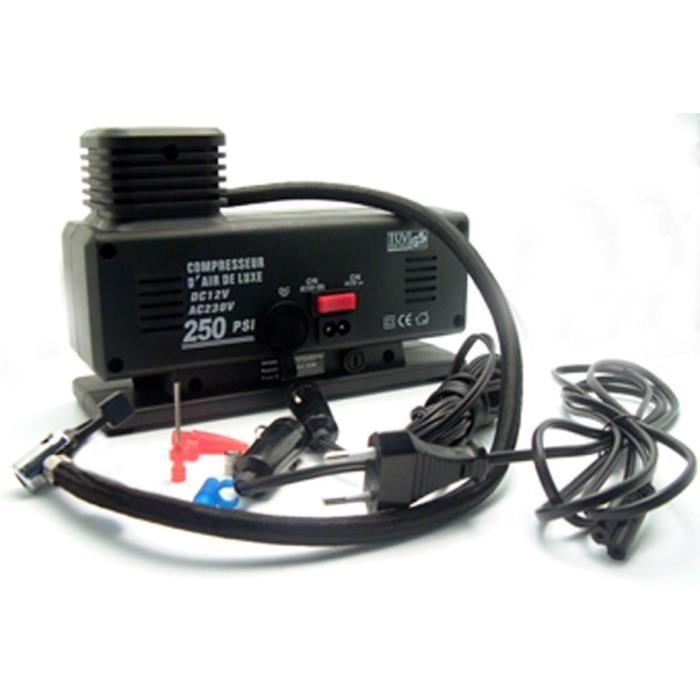 compresseur air 12v 220v