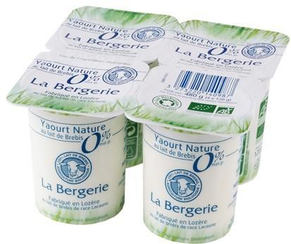 contenance yaourt