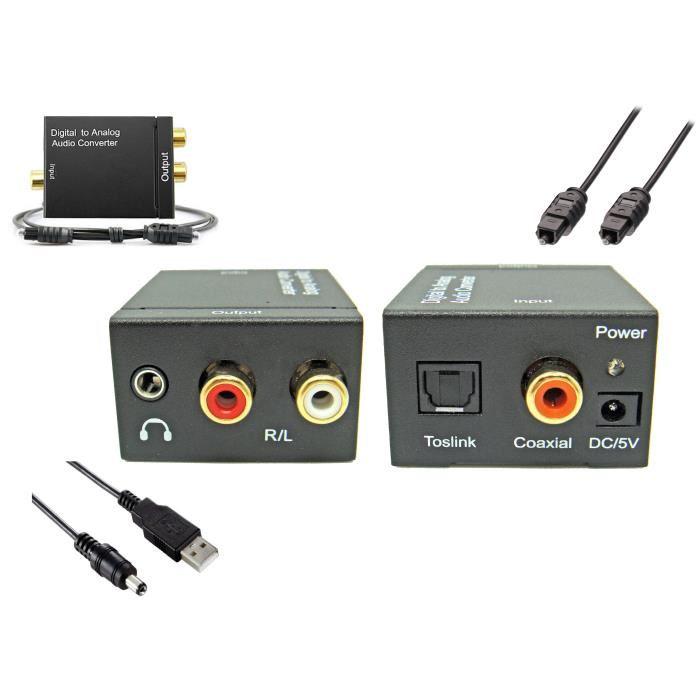 convertisseur audio spdif numérique analogique
