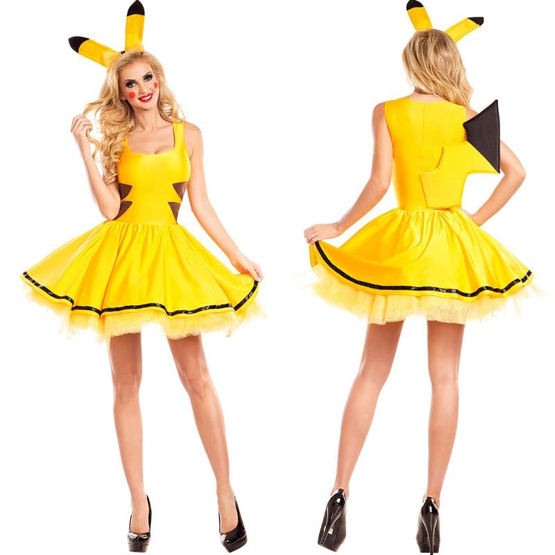 costume pikachu femme