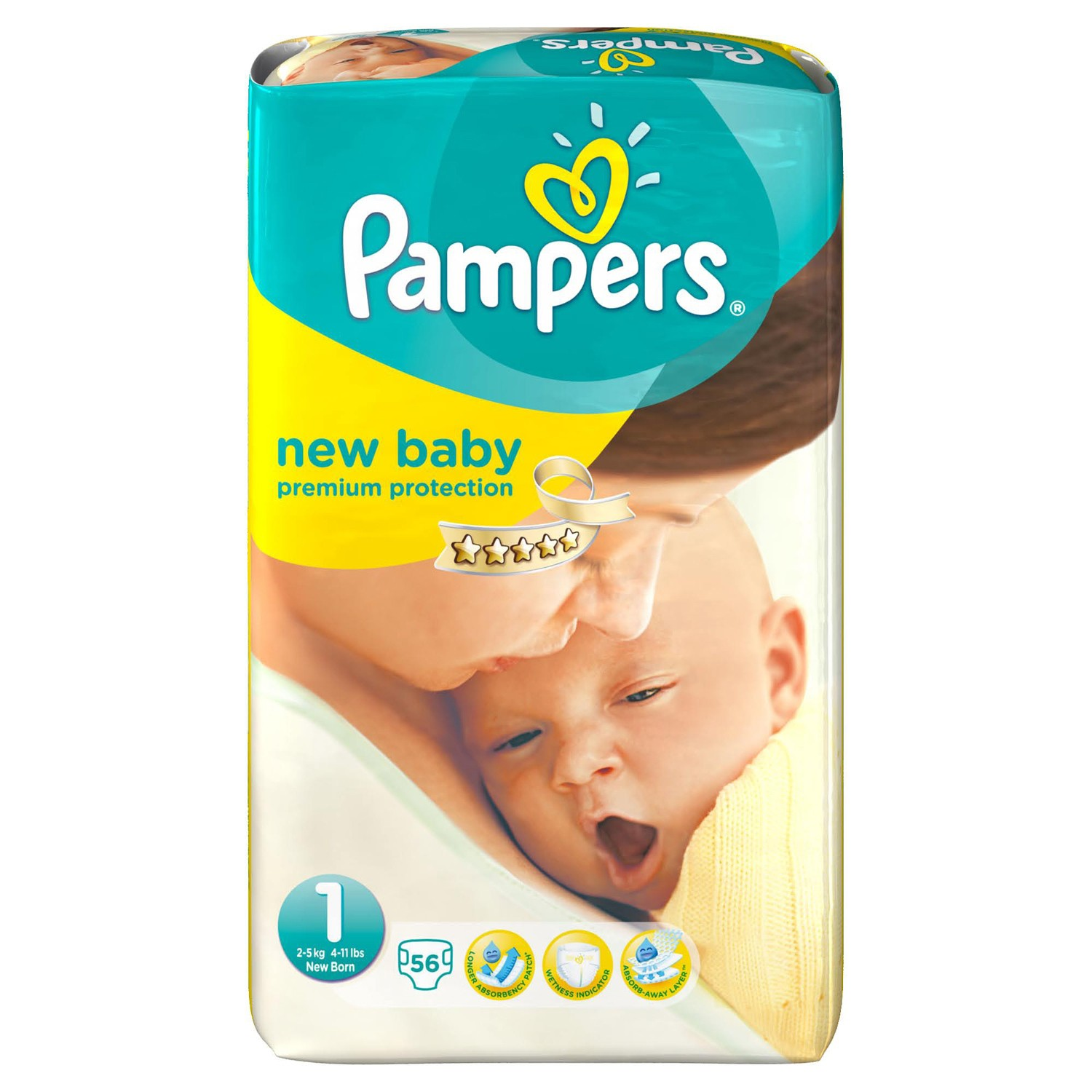 couches pampers new baby taille 1