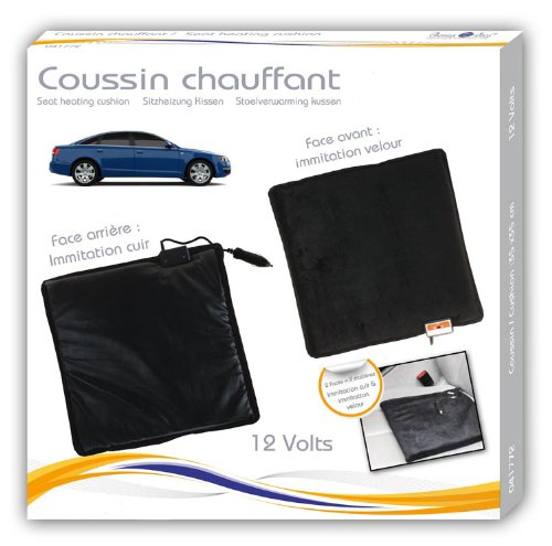 coussin chauffant voiture