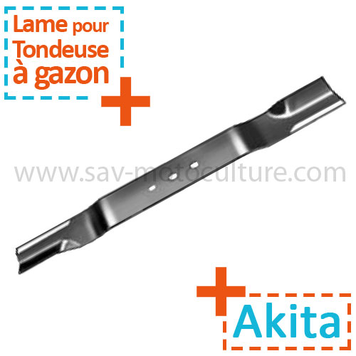 couteau de tondeuse a gazon