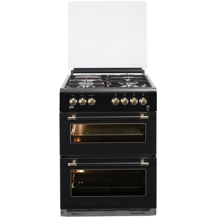 cuisiniere a gaz et electrique