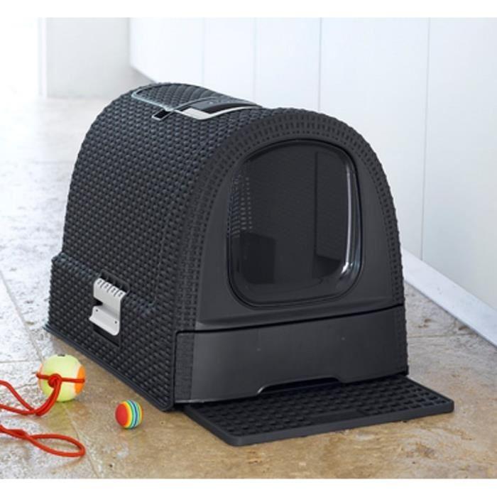 curver maison de toilettes pour chat