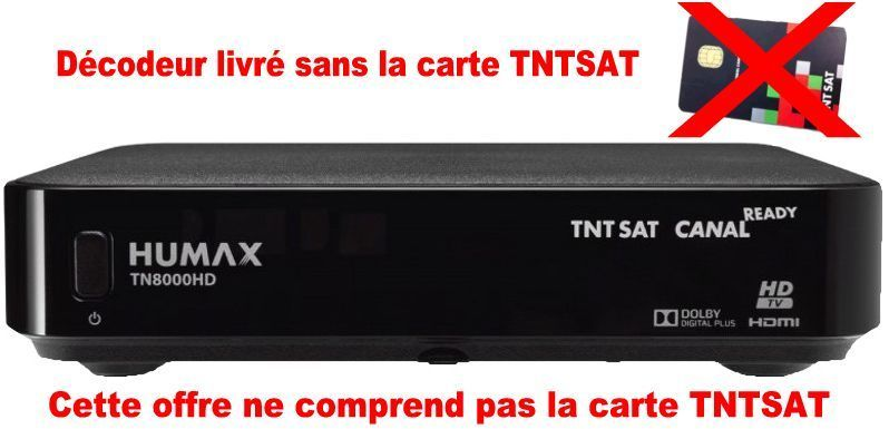 decodeur tnt hd satellite sans carte