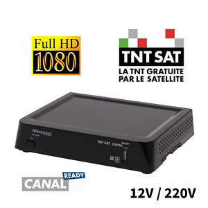 decodeur tntsat hd 12v