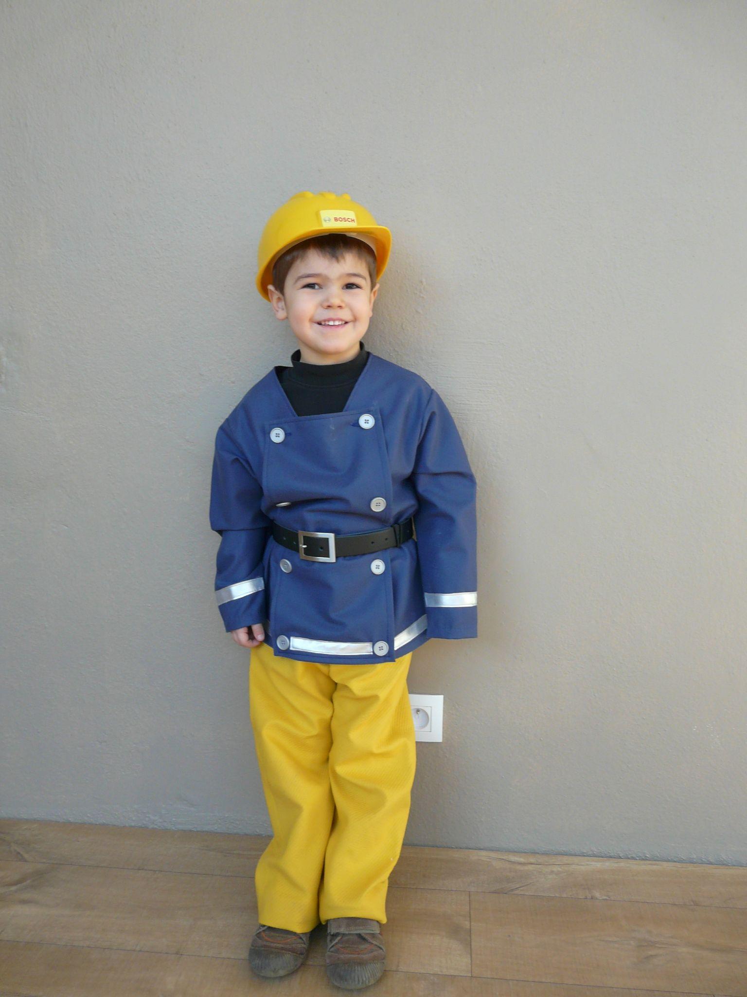 déguisement sam le pompier 3 ans