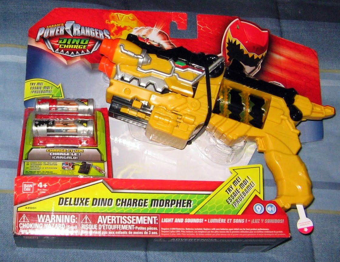 deluxe dino charge morpher