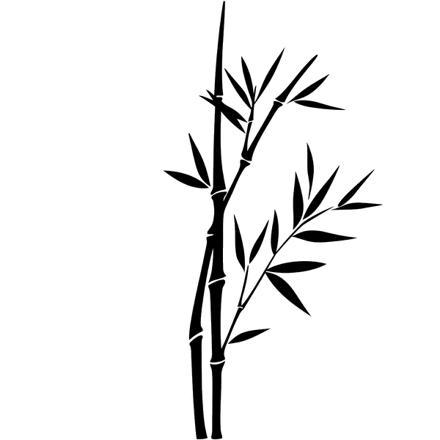 dessin bambou facile