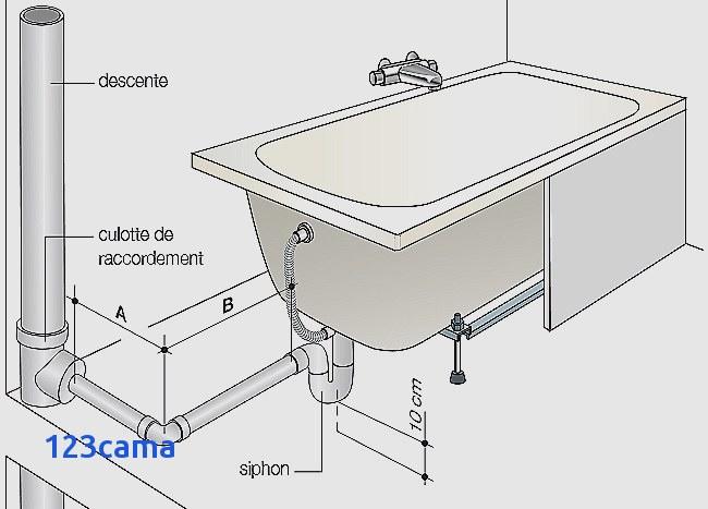 diametre evacuation lavabo salle de bain