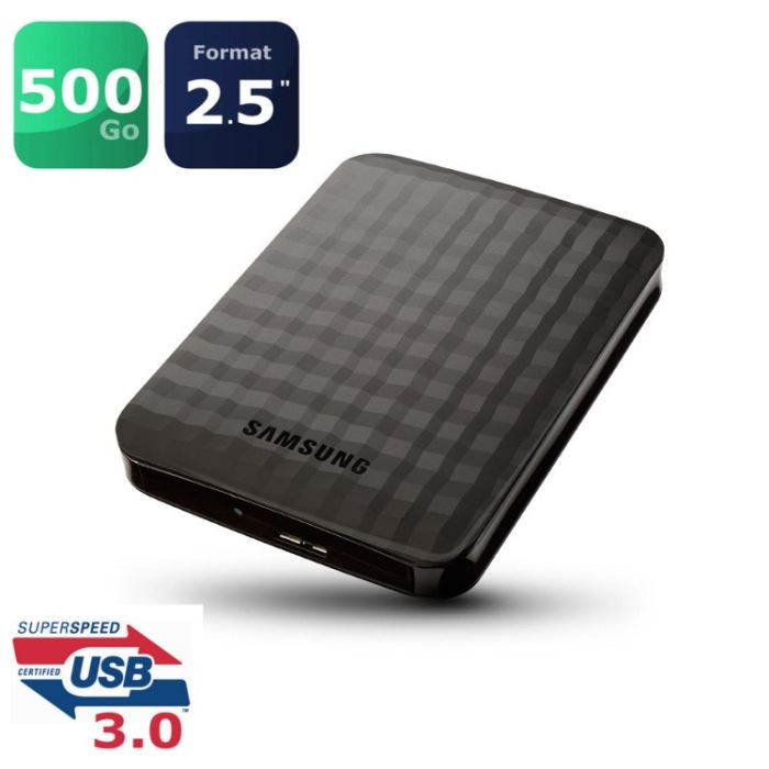 disque dur externe 500 go pas cher