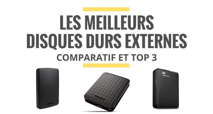 disque dur externe meilleur prix