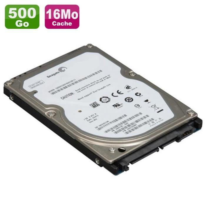 disque dur interne sata 500 go