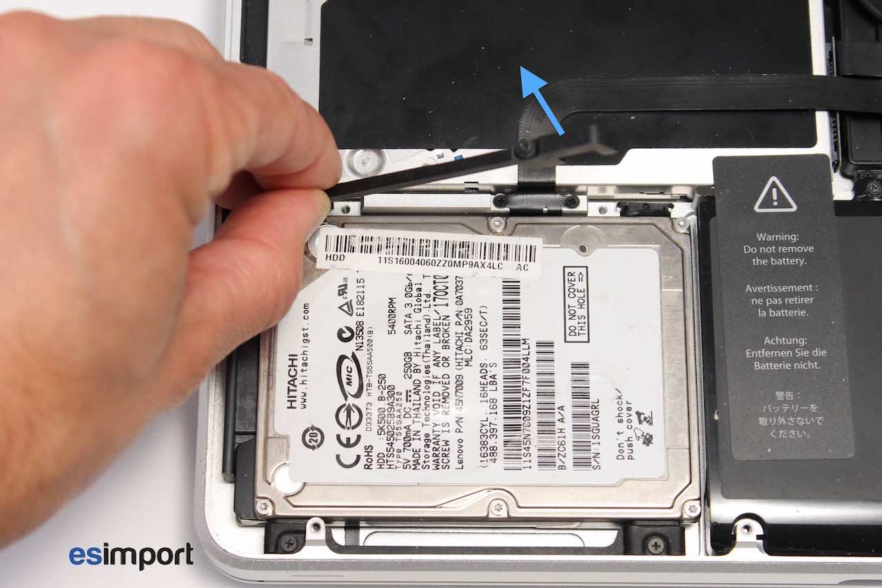 disque dur ssd macbook pro