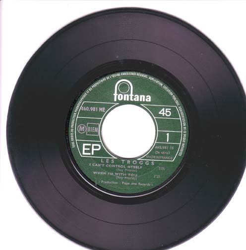 disque vinyl 45 tours