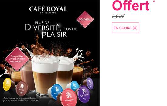 dosette cafe compatible dolce gusto