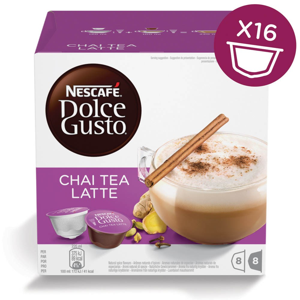 dosette thé dolce gusto