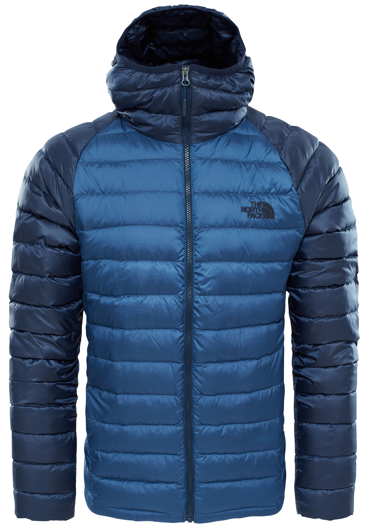 doudoune north face bleu