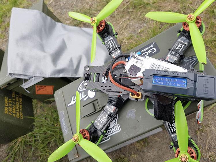 drone de course vitesse