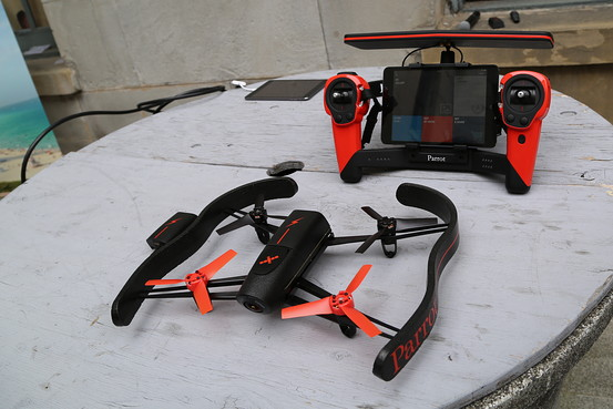 drone parrot camera