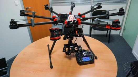drone professionnel avec camera