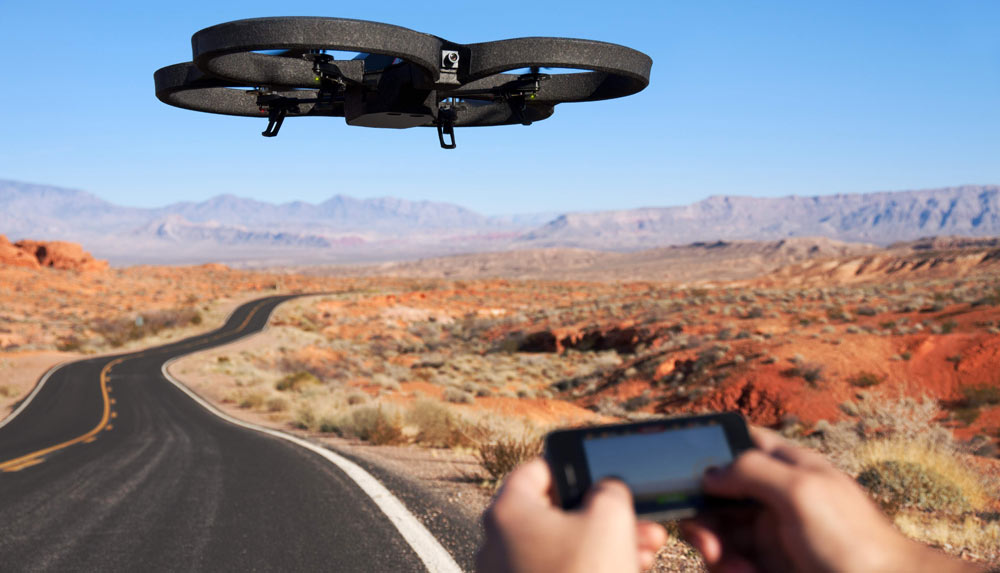 drone promotion