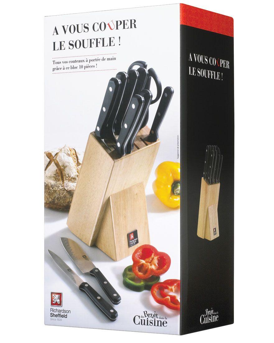 du bruit dans la cuisine couteaux