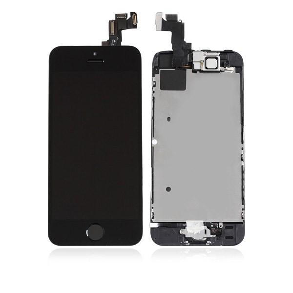ecran iphone 5s noir complet