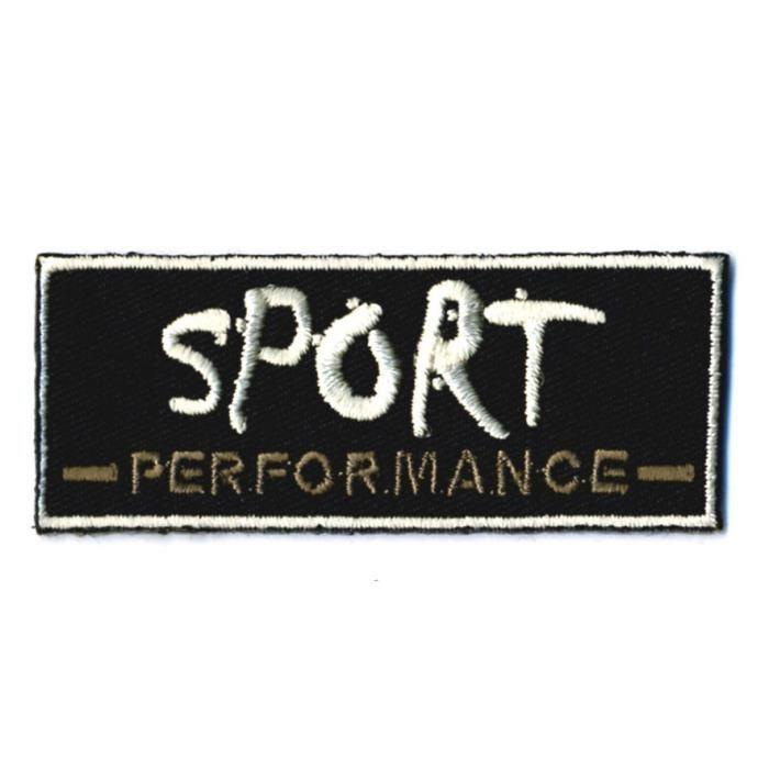 ecusson thermocollant sport