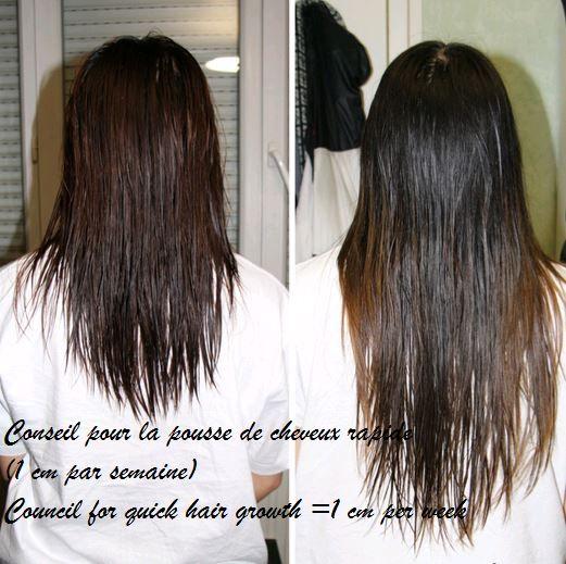 effet de l huile de ricin sur les cheveux