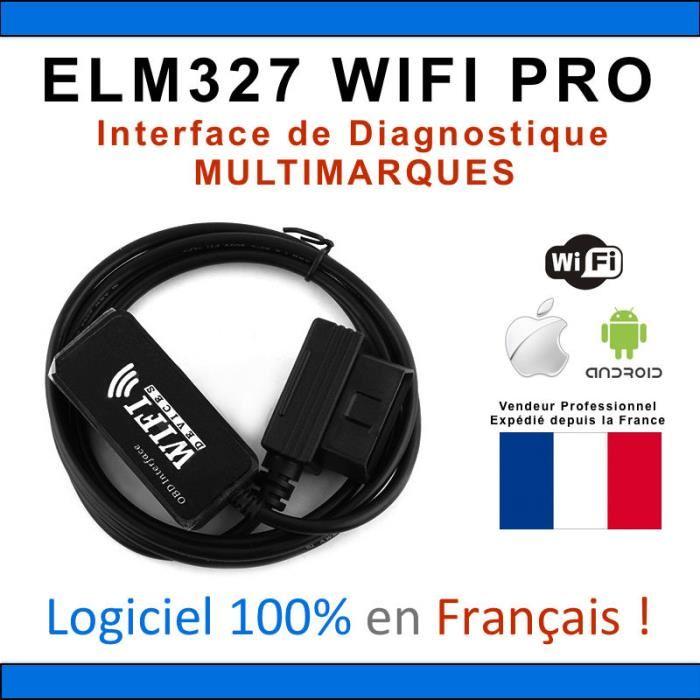 elm327 wifi francais