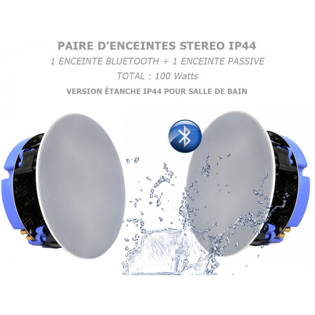 enceinte bluetooth encastrable plafond