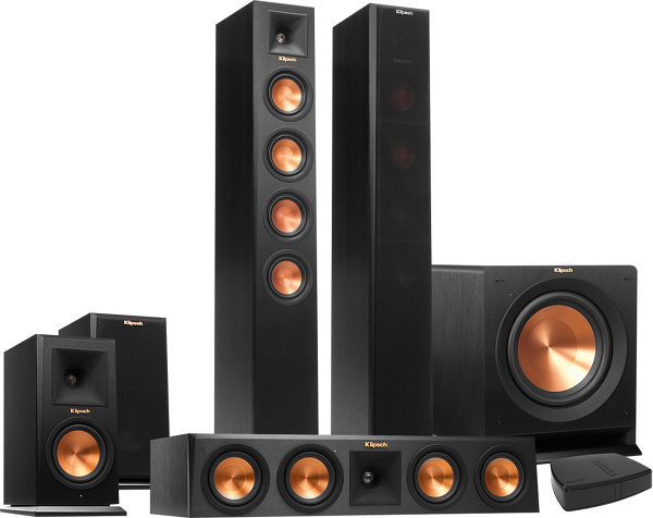enceintes home cinema sans fil