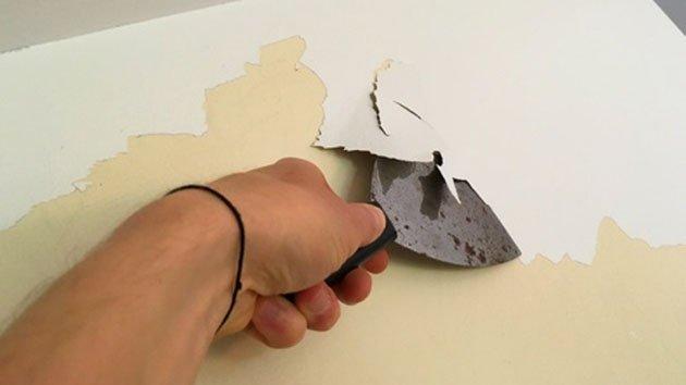 enlever de la peinture sur un mur